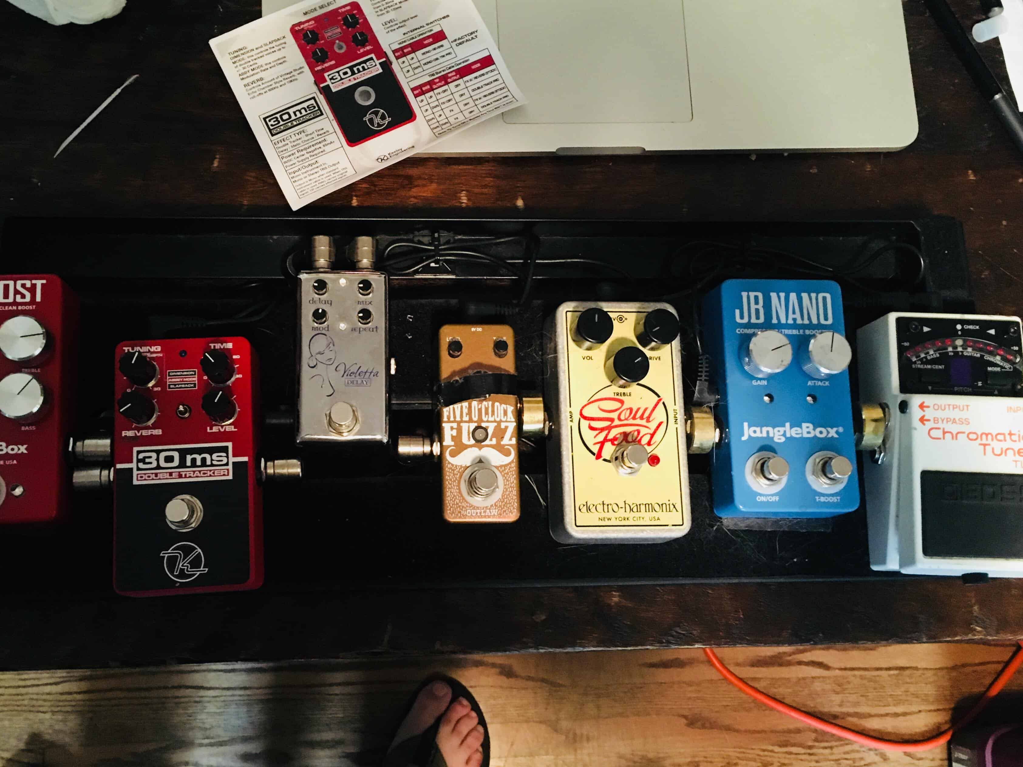 Pedal Boards & Effects - Buddy Woodward
